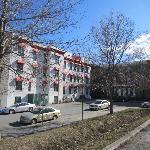 hostel exterior