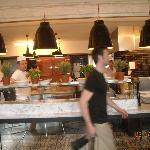 Cucina e pizzeria tutto a vista