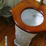 Edwardian style toilet
