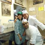 Some of Volpetti's staff