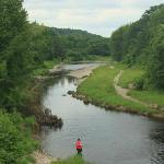 River near camp