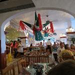 Pepe's main dining room