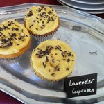 tasty lavender cupcakes