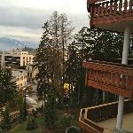 Vu depuis le balcon