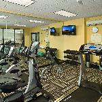 The Exercise Room - Open 24 hours for your convenience.