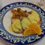 lomo a la naranja, cena en les closes