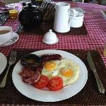 Gorgeous breakfast - 2nd course - full english!