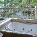 Jacuzzi in our bathroom