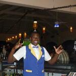 Fun and entertaining bartender at the Iberostar Punta Cana