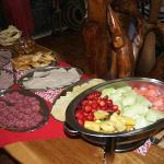 """Buffet du Petit déjeuner(miam """"firifiri"""" trop bon)"""
