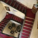 Accès escalier aux chambres