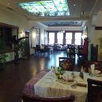 Upstairs restaurant at Sarajet, Tirana, Albania