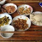 Tasty authentic Hakka breakfast