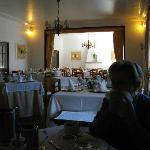 La sala ristorante.