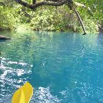 Malo River blue pool
