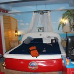 bath bed