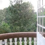vista dal balcone