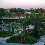 Nice pool area in Marriott complex.