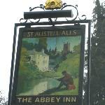 The Abbey Inn Sign