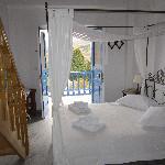 Lefkes village honeymoon suite