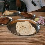 The Galauti kabab and Rumali roti