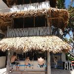 adjacent beach bar