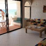 livingroom and patio