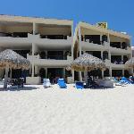 Back of complex - beachside