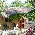 bungalow de l'extérieur
