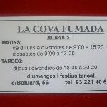 Photo of La Cova Fumada