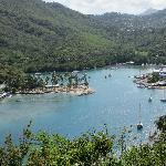Marigot Bay - view from Inn on the Bay