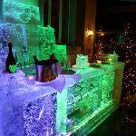 Dom Perignon ice bar