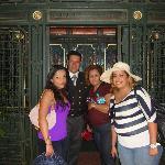 mi familia con el sr. salvador cabrera