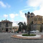 L'hotel con il ristorante vicino alla Basilica di S.Vicente