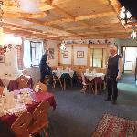 Our host Gary and the dining room