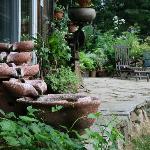 Terrasse au jardin