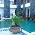 Pool facing ground-floor rooms