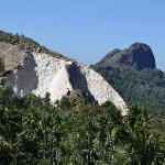 Rocks above the jungle