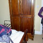number 6 bedroom with a lethal wardrobe 12 inches from the bed