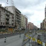 Avenue de l'hotel