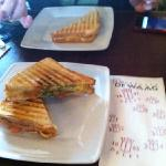 lunch here is delightful and very reasonable.  toasty ham and cheese for €3,60. free wifi.
