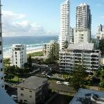view out kitchen window- south towards broadbeach