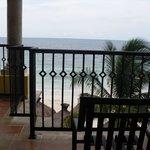 Master Balcony Area!