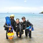 Lesta, our dive professional