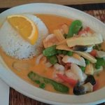 Mixed Seafood Curry at Chez Siam