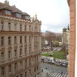 we could see Hradčany from our window