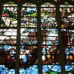 Vitraux de la Saint-Chapelle de Champigny sur Veude