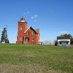 Picture of the Lighthouse and grounds