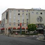 L'Hotel IBIS collegato al centro termale di Callou