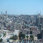 View of Cairo city from Minaret of Mosque